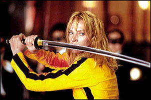 I know they're two different people, but have you ever seen Uma Thurman (star of Kill Bill) and Cameron Diaz (who's not in Kill Bill) in the same place at once?