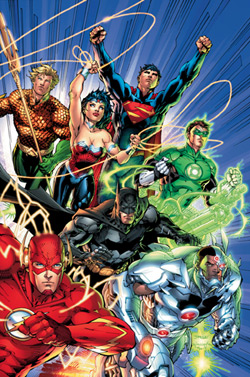 The new Big 7 of the DC Universe (sorry Martian Manhunter)